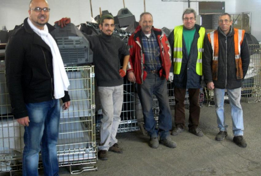 AG2I, recyclage et insertion en zone industrielle de Fleurance