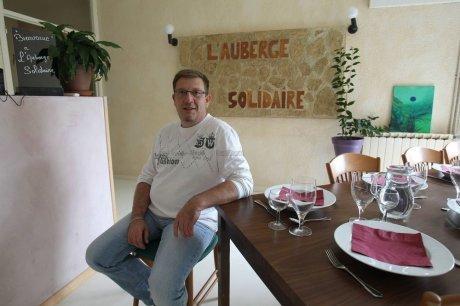 Sébastien Rato, Auberge Solidaire.  (Crédit photo : sudouest.fr, philippe bataille)